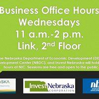 Business Office Hours with DED NBDC &amp Invest Nebraska