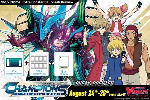 Cardfight Vanguard - Champions of the Asia Circuit Sneak Peek