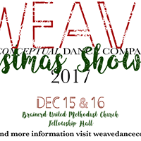 WEAVEs 4th Annual Christmas Showcase