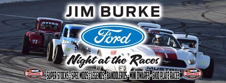 Jim Burke Ford Night At The Races California
