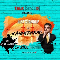 Just Stand up With Atul Khatri Ahmedabad