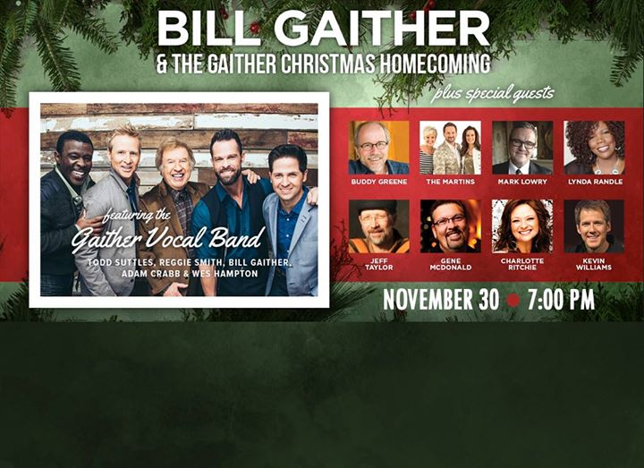 bill gaither the gaither christmas homecoming