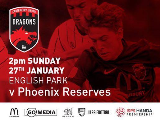 ISPS HANDA Premiership Dragons v Phoenix Reserves
