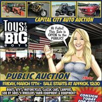 Capital City Auto Auctions Toy for Big Boys Sale