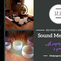 90-min New Moon &amp Winter Solstice Sound Meditation