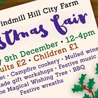 Christmas Fair at Windmill Hill City Farm
