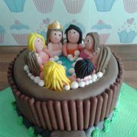 Hot Tub Novelty Cake at Crafty Fingers, Saint Helens