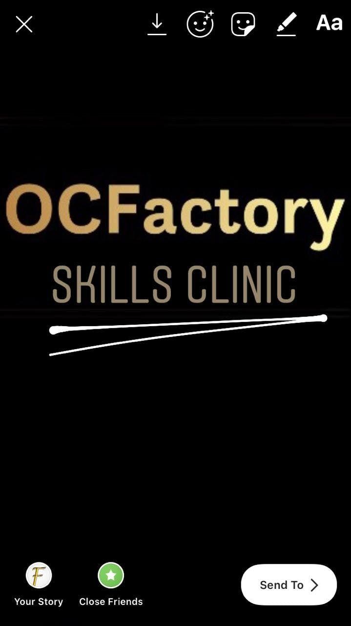 OC Factory Skills Clinic