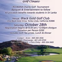 Rcobana Charity Golf Tournament
