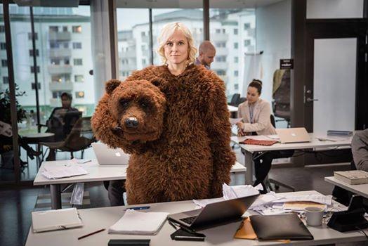 Premiere The Bear av Johannes Stjrne Nilsson