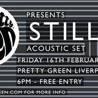 Stillia Live at Pretty Green Liverpool