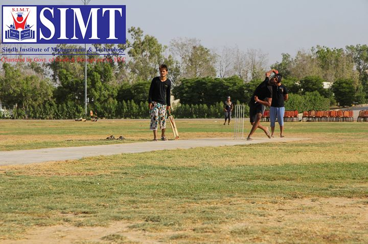Cricket Match SIMT Korangi Campus VS SIMT Main Campus