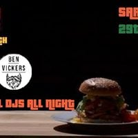 Jammin BBQ burger launch with Ben Vickers