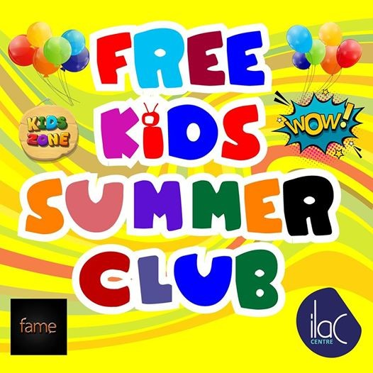 Free Kids Summer Club