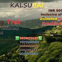 TrekGuru  Monsoon Trek to kalsubai on 30th July 2017