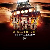 Dirty Disco Pre Party at The Nile Theater
