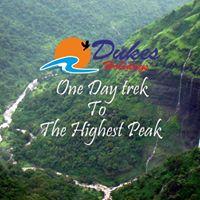 One Day Monsoon Trek to Kalsubai on 11th June 2017