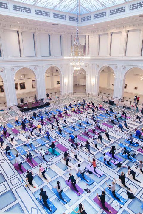 Art & Yoga with adidas