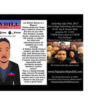 Les Botes Noires - A Haitian American Stage Play