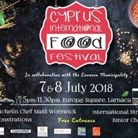 2018 Cyprus International Food Festival Larnaca