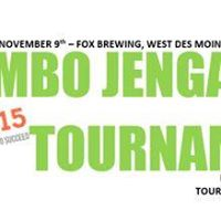 PI 515s Jumbo Jenga Tournament