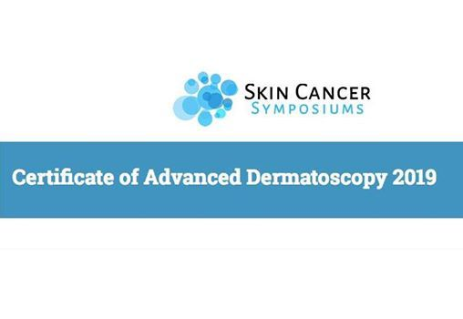 Certificate of Advanced Dermatoscopy