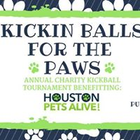 Kickin Balls for the Paws