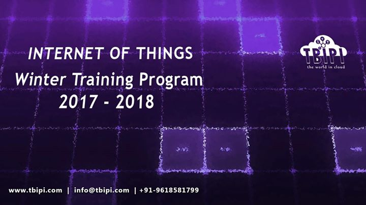IoT Training in Bangalore by TBIPI - Winter Program