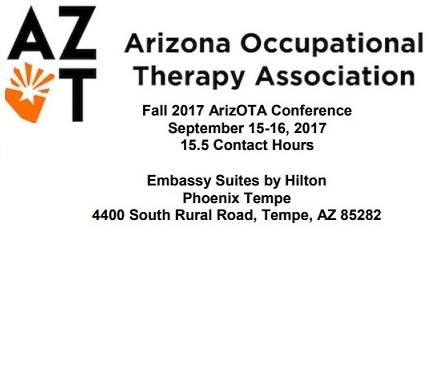 Arizona Occupational Therapy Association Annual Fall Conference