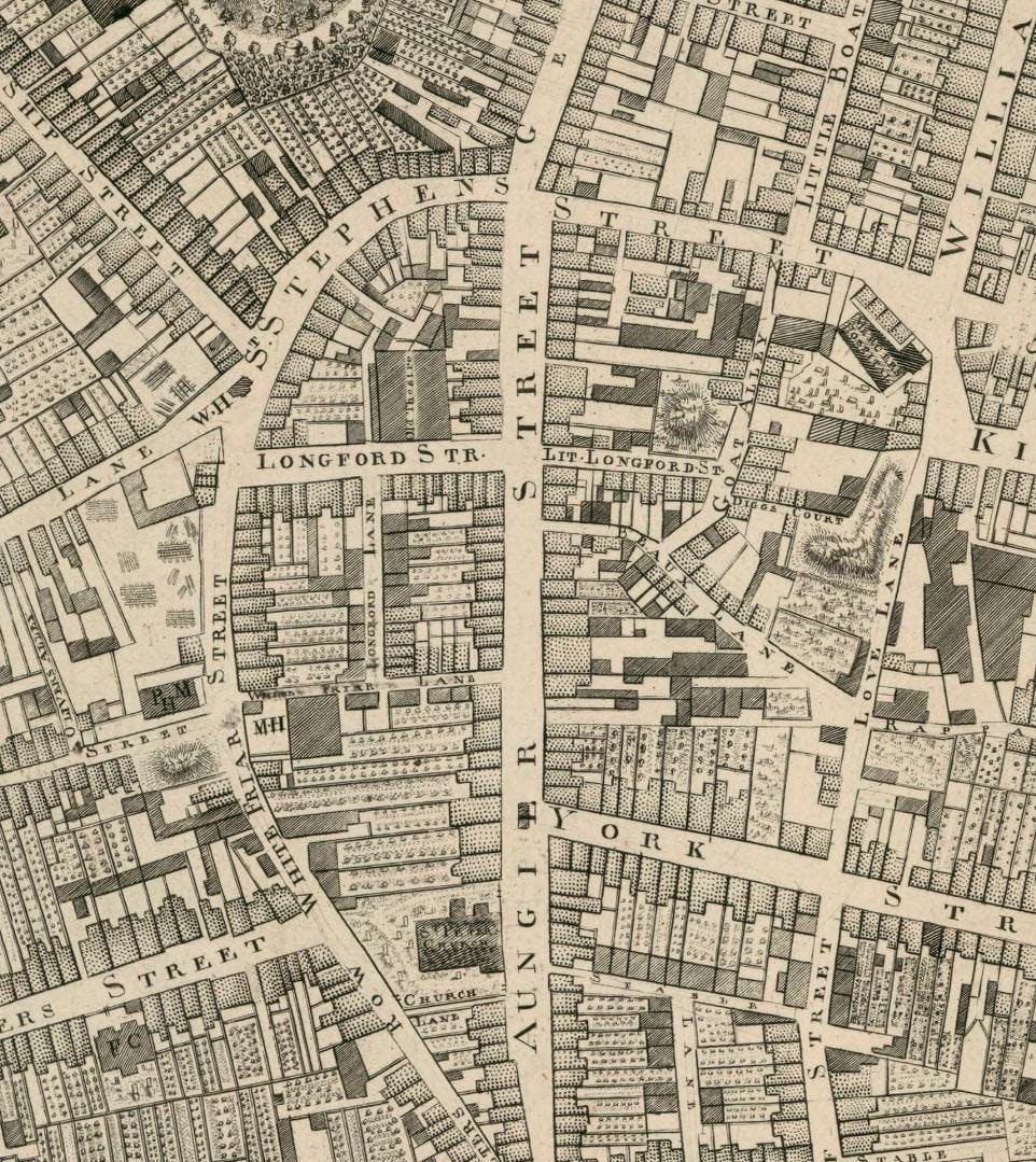 A walk of the Camden St. Aungier St. area with Arran Henderson of Dublin Decoded
