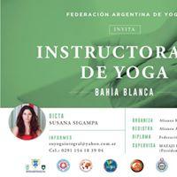 Instructorado de Yoga en Bahia Blanca
