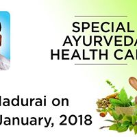 Special Ayurveda Health CAMP at Madurai on 20th January 2018.