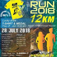 1st Singkug Hill Trail Run 2018