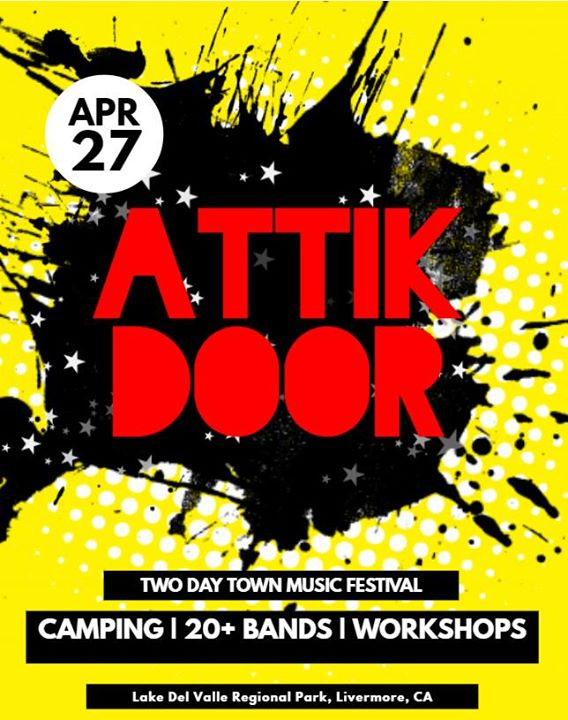 Attik Door at Two Day Town Music Festival  sc 1 st  AllEvents.in & Attik Door at Two Day Town Music Festival | Livermore