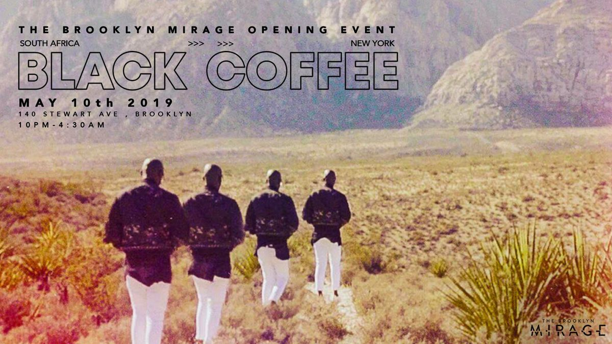 Black Coffee Brooklyn Mirage Opening Event
