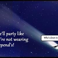 Halleys Comet Party