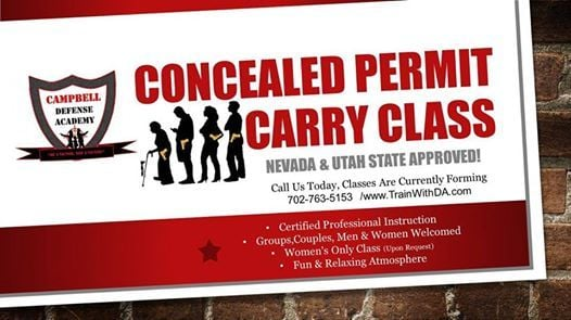 Multi State Concealed Carry Class At Tommy Rockers Nevada