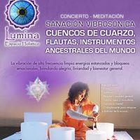 Concierto de Sanacin - Cuencos de Cuarzo Flautas Instrumentos Ancestrales junto a Sira Gersz