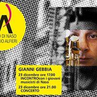 Gianni Gebbia  Concerto e incontro