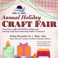 TAMUG Staff Council Annual Holiday Craft Fair