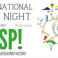 INSP International Caf Night
