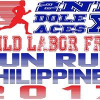 DOLE ACES XI Child Labor Free PH Fun Run 2017
