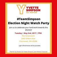 Yvette Simpson Election Watch Party