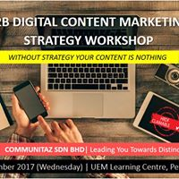 B2B Digital Content Marketing Strategy Workshop