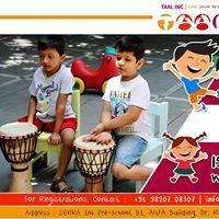 Kids In Rhythm Djembe Classes - Mumbai
