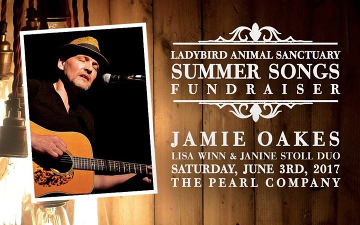 Summer Songs Fundraising Concert with Jamie Oakes