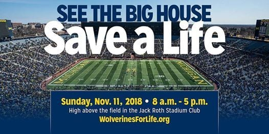 Be a Hero at the Big House