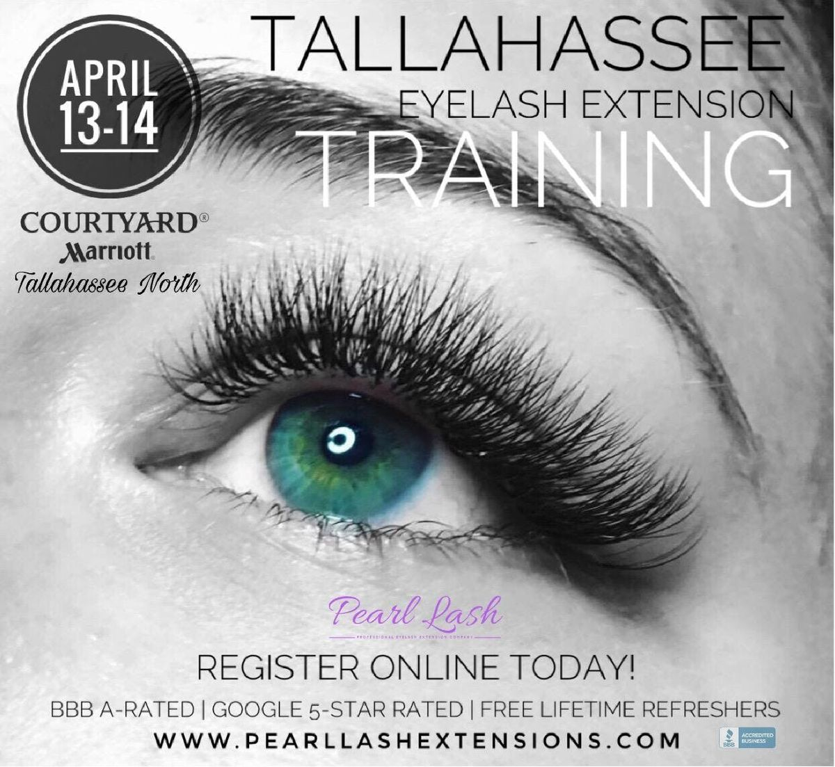 Eyelash Extension Training Hosted by Pearl Lash Tallahassee FL
