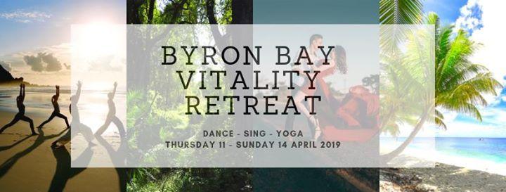 Byron Bay Vitality Retreat Dance - Sing - Yoga