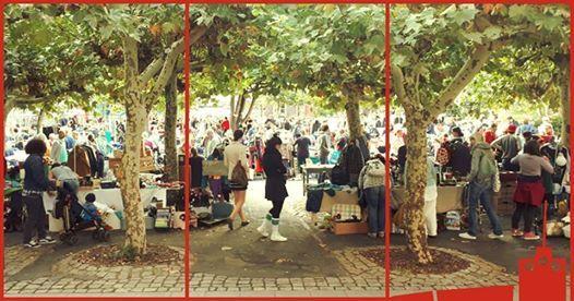 Flohmarkt in der Alte Feuerwache